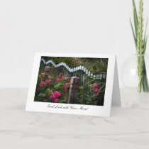 Marken Roadside Garden - Good Luck with Your Move Card