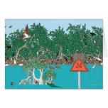 Marker 24 greeting card