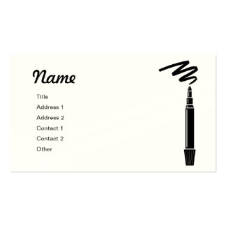 Marker Graphic Business Card