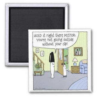 """""""Marker Moms"""" Funny Cartoon Magnet"""