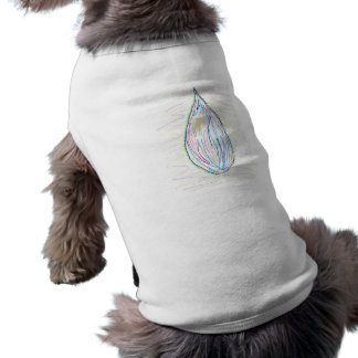 Marker tear in multiple colors pet shirt