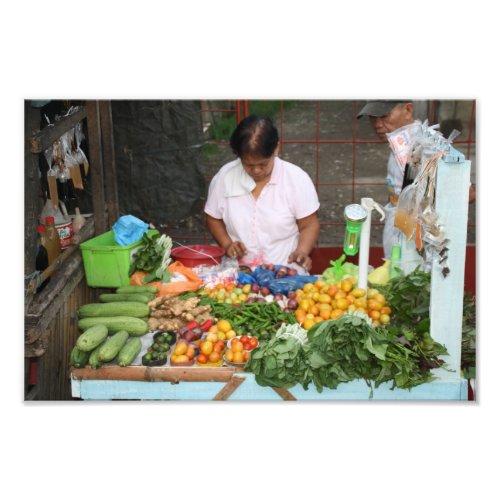 Market stall, Visayas, Philippines