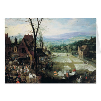 Market and Bleaching Ground, 1620-22 Card