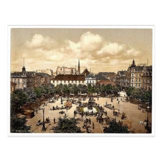 Market, Bremerhafen, Hanover (i.e. Hannover), Germ Postcard