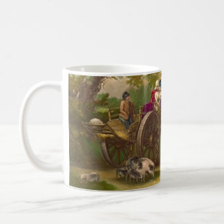 Market Cart 1929 Coffee Mug