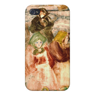 Market Day 1899 iPhone 4/4S Cover