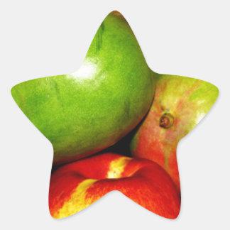 Market Day Fresh Produce Star Sticker