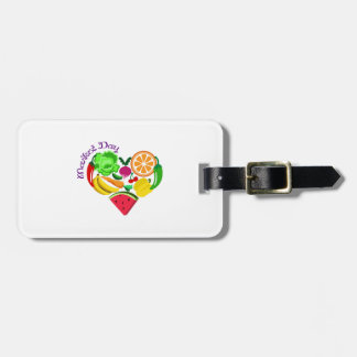 market day luggage tags