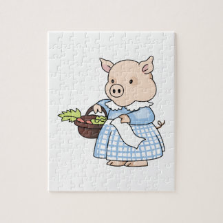 MARKET DAY PIG PUZZLES