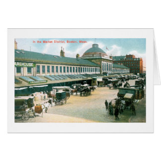 Market District, Boston Mass Card