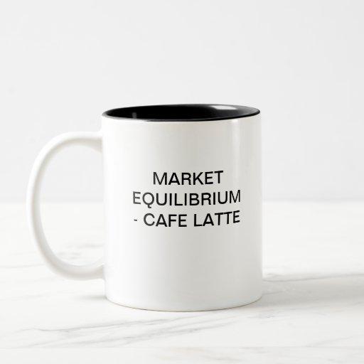 MARKET EQUILIBRIUM - CAFFE LATTE MUG