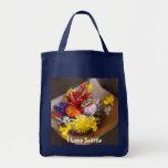 Market Flowers Canvas Bag