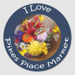 Market Flowers Sticker