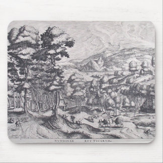Market for the country by Pieter Bruegel the Elder Mousepad