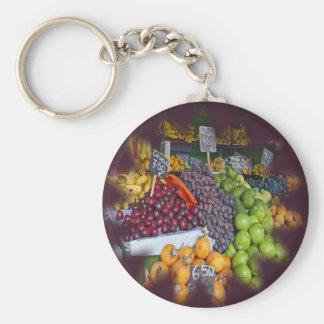 Market Fruit Stall Keychains