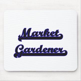 Market Gardener Classic Job Design Mouse Pad
