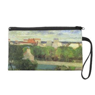 Market Gardens of Vaugirard - Paul Gauguin (1879) Wristlet Purse
