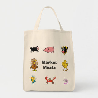 Market/Grocery Meat Bag