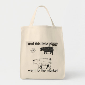 Market Ham parts Grocery Tote