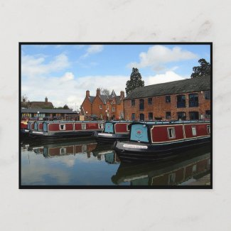 Market Harborough Houseboat Basin Post Cards