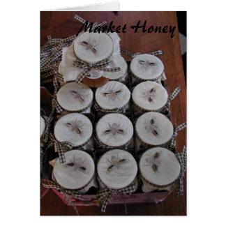 Market Honey Greeting Card