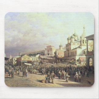 Market in Nishny, Novgorod, 1872 Mouse Pads