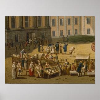Market in the Alter Markt, Potsdam, 1772 Poster
