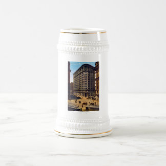 Market Montgomery and Post Streets, San Francisco Beer Stein