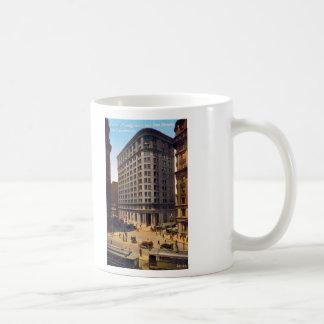 Market Montgomery and Post Streets, San Francisco Classic White Coffee Mug
