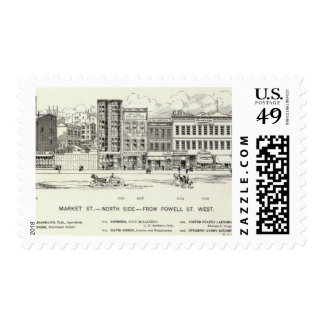 Market North side Powell Postage