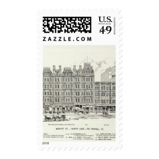Market North side Powell Postage Stamps
