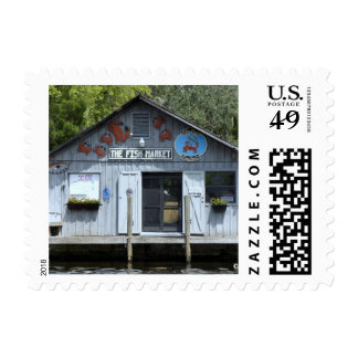 Market on the Water Postage