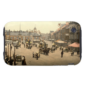 Market Place, Carlisle, Cumbria, England iPhone 3 Tough Cases