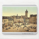 Market place, Darmstadt, the Rhine, Germany magnif Mouse Pads