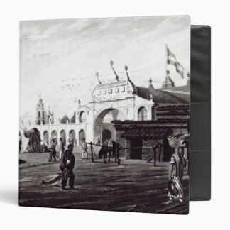 Market Place, engraved by Daniel Havell  1820 3 Ring Binder