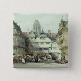 Market Place, Frankfurt Pinback Button
