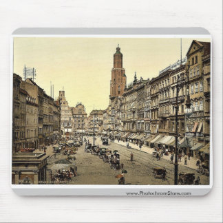 Market place, from the East, Breslau, Silesia, Ger Mouse Pad