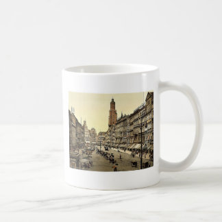 Market place, from the East, Breslau, Silesia, Ger Coffee Mugs