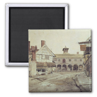 Market Place, Hereford, 1803 Magnet