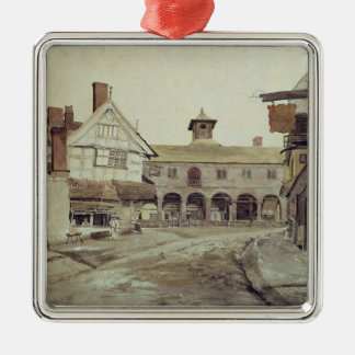Market Place, Hereford, 1803 Metal Ornament