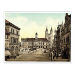 Market place, Madgeburg, German Saxony, Germany ma Postcards