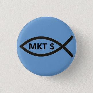 Market Price Fish Pinback Button