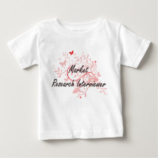 Market Research Interviewer Artistic Job Design wi Baby T-Shirt