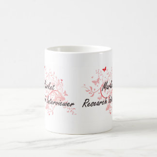 Market Research Interviewer Artistic Job Design wi Coffee Mug