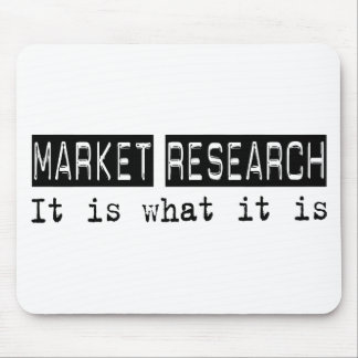 Market Research It Is Mouse Pad