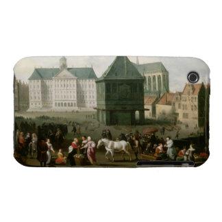 Market Scene before the Dam Palace, Amsterdam Case-Mate iPhone 3 Case