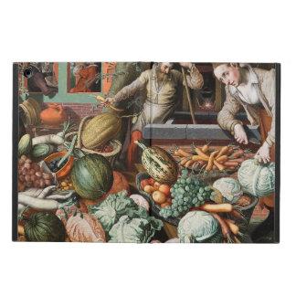 """Market Scene"" vintage art cases"