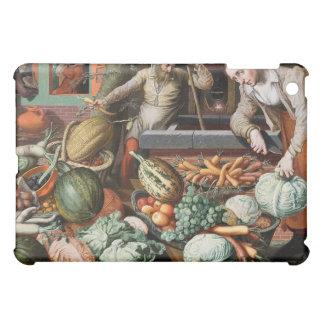 """Market Scene"" vintage art cases iPad Mini Cover"
