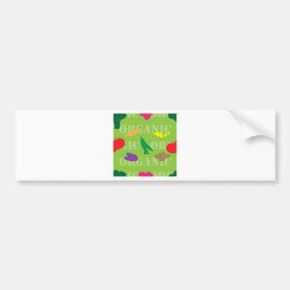 Market Seamless Bumper Sticker