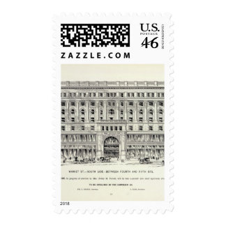 Market Side side 4th and 5th Stamp